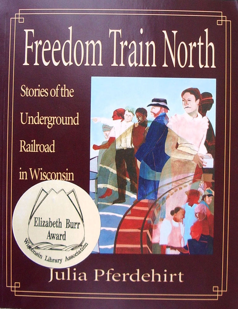 Freedom Train North, book illustrations by Jerry Butler.