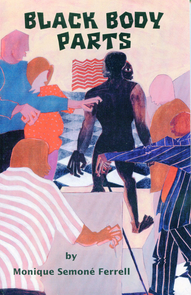 Black Body Parts, book illustration by Jerry Butler