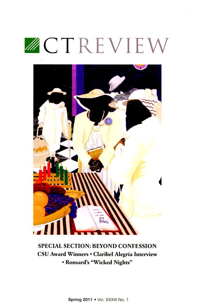 CTReview Special Section: Beyond Confessions. illustration on the cover and several inside of the publication.