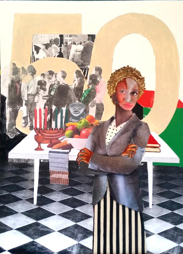 Black Woman. Umoja Magaine, 2016.
