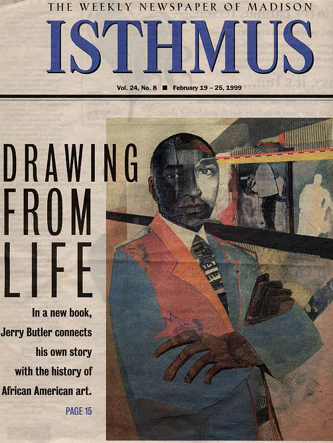 Self-Portrait. Isthmus Cover, 1999