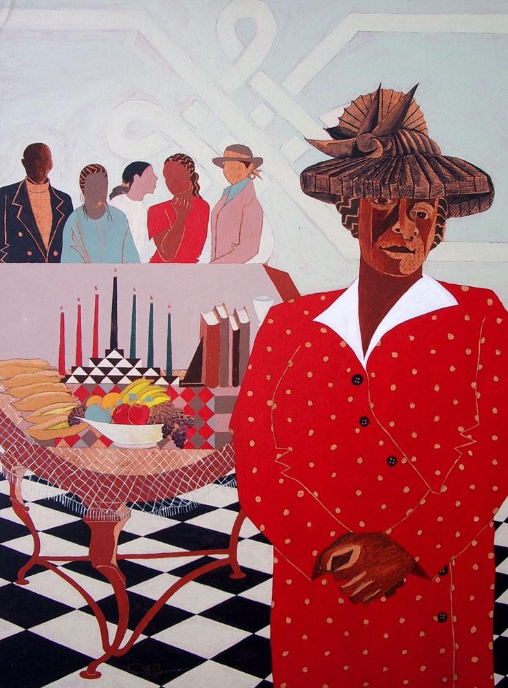 Pat's Table. Umoja, 2003.